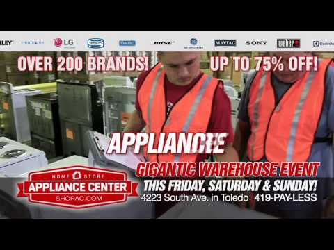 Appliance Center GIGANTIC WAREHOUSE EVENT!