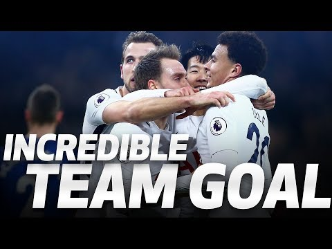 INCREDIBLE TEAM GOAL | Spurs 4-0 Everton