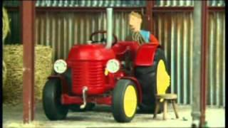 Kicsi piros traktor - A létra