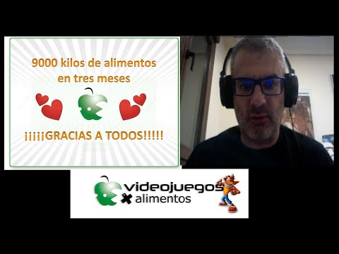 Videojuegos por alimentos Pablo Aviles