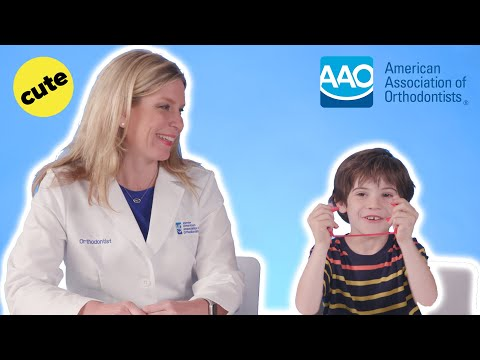 Kids Explain What Orthodontists Do // Presented by American Association of Orthodontists