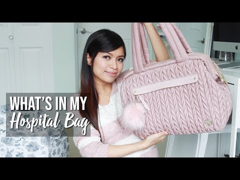 What's in My Hospital Bag For Labor & Delivery ♥ HAPP Paige Carryall Diaper Bag Review