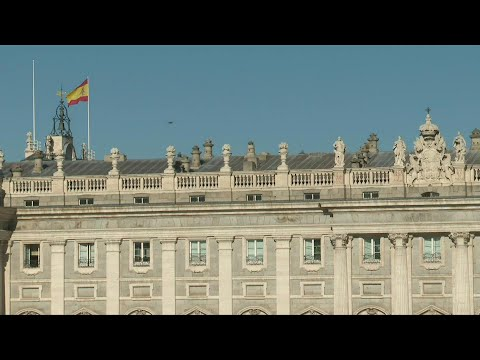 Scene outside Madrid's Royal Palace as Spain's ex-king Juan Carlos heads for exile | AFP