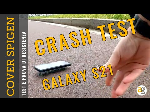 CRASH TEST GALAXY S21 e cover SPIGEN