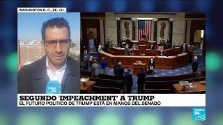 Informe desde Washington: El futuro político de Trump está en manos del Senado
