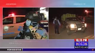 Policía Nacional y la PMOP mantienen vigilancia permanente en #Villanueva, Cortés