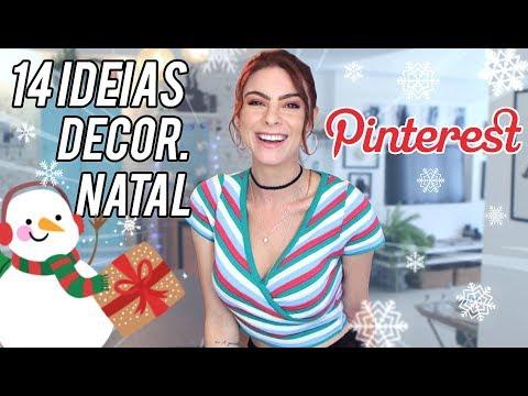 14 Ideias incríveis Natal 2018 Decor – Pinterest