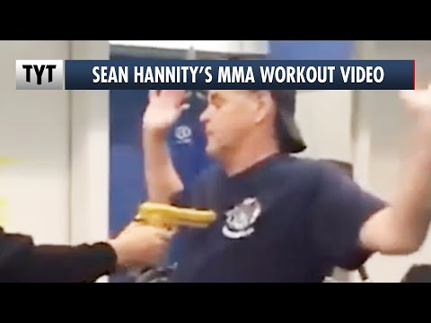 Sean Hannity's Hilarious MMA Workout Video