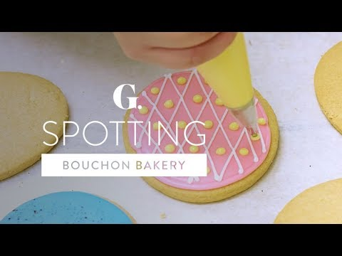 Easter Cookies at Bouchon Bakery Beverly Hills