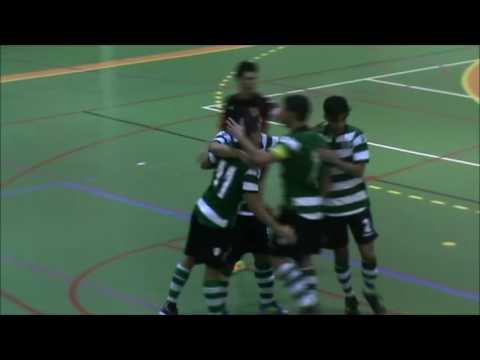 16/17 Golos Jornada 5 - Campeonato Nacional Sub20 - SCP 6 vs A.D.Fundão 1