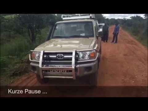 Angola: Von Luau nach Cazombo