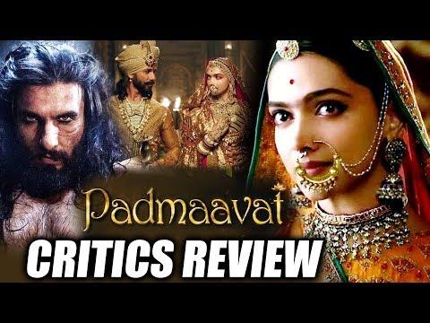 Padmaavat CRITICS REVIEW | Deepika Padukone | Shahid Kapoor | Ranveer Singh