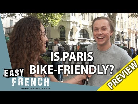 Do Parisians use bikes? (PREVIEW) | Easy French 88 photo