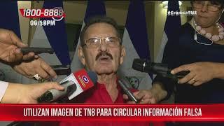Circula información falsa utilizando imagen de TN8 – Nicaragua