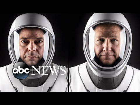 Meet the astronauts going to the International Space Station