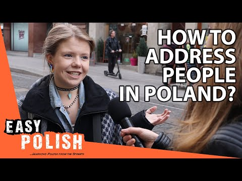How to address people in Poland? | Easy Polish 129 photo
