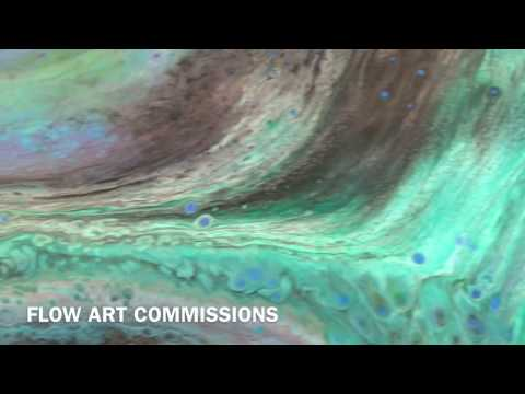 Flow paintings for Commercial Office Space London