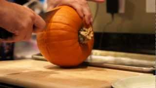 Real Pumpkin Pie Recipe Youtube