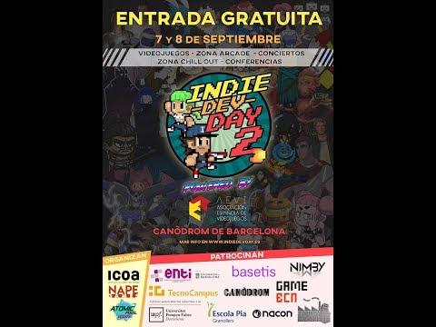 Visitando la Indie Dev Day 2 de Barcelona