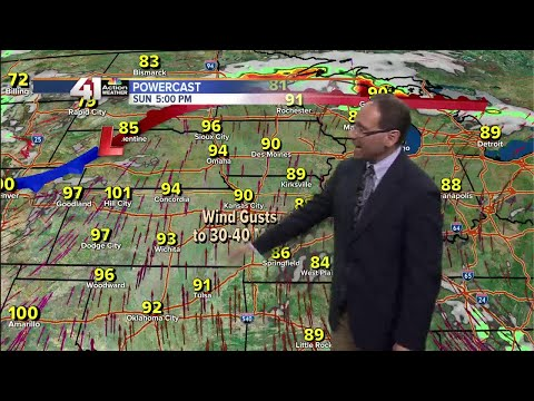 Jeff Penner Saturday Afternoon Forecast Update 6 10 17