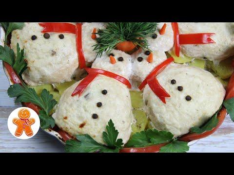 Новогодние Снеговики ✧ Удивите Своих Гостей