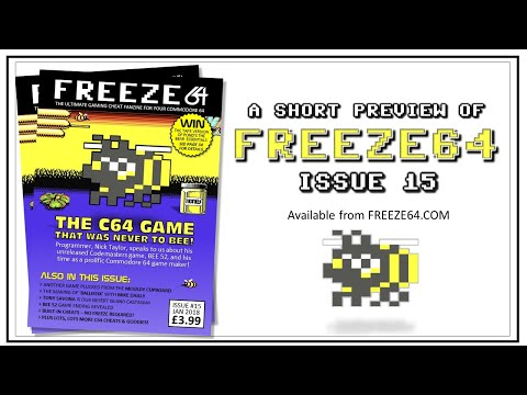 FREEZE64 fanzine issue 15 for the Commodore 64