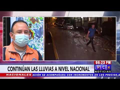 COPECO anuncia que las lluvias seguirán en el país