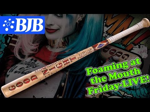 Episode 7: Foaming at the Mouth Friday- Making a Movie Prop Foam Baseball Bat