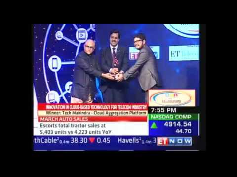 Tech Mahindra's Cloud Aggregation Platform wins ET Telecom Awards 2016