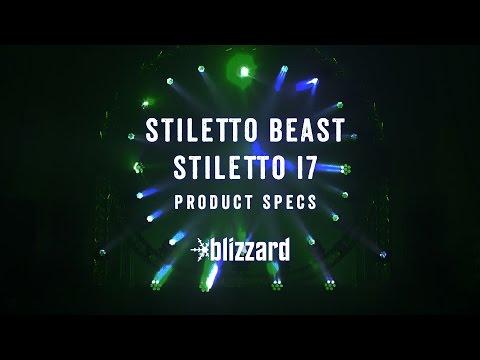 Product Specs Quickie: Stiletto™ Beast + Stiletto™ I7