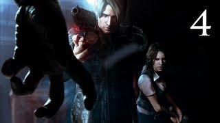 Прохождение Resident Evil 6 Co-op (Леон) - Часть 4 — Глава 1: Оживленные улицы Толл-Оукс