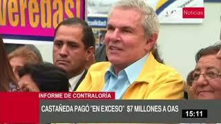 Luis Castañeda Lossio: administración edil pagó un exceso de más de US $ 7 millones a OAS