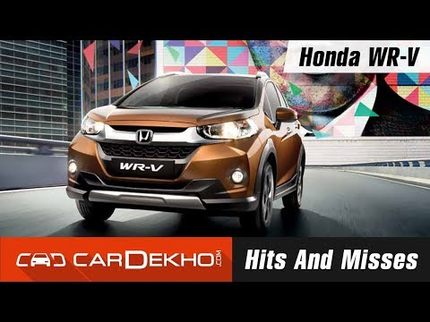 Honda Wr V Hits And Misses Video 3524