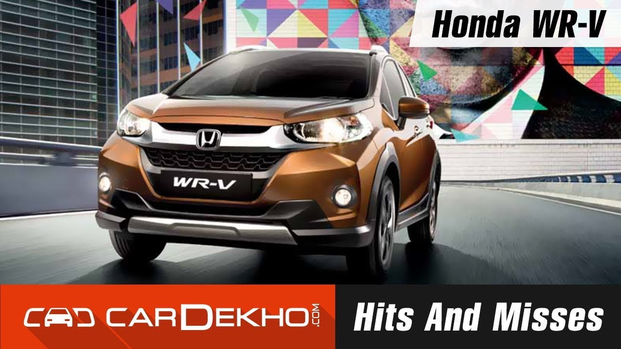Honda WR-V Hits And Misses