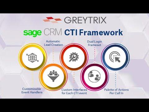 Sage CRM CTI Framework