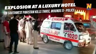 Explosion in Quetta, Pakistan