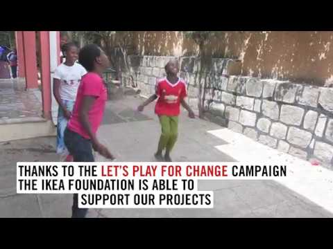 Transition centre for girls in Addis Ababa - Let's Play for Change Campaign 2017