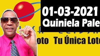 Resultados y Comentarios Quiniela Pale de Leidsa 01-03-2021 (CON JOSEPH TAVAREZ)