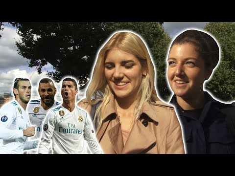 Girls React | Kiss Marry Kill | Bale, Benzema & Cristiano Ronaldo
