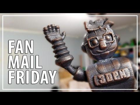 Fan Mail Friday - Metal Joelbot Edition!