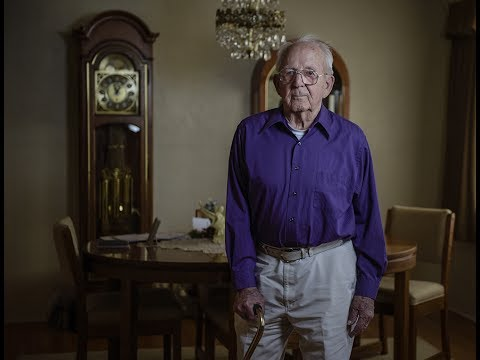 WWII Navy Veteran J.W. Herman recently received medals he earned for his service