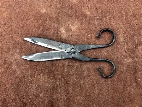 Forged Scissors Part 2