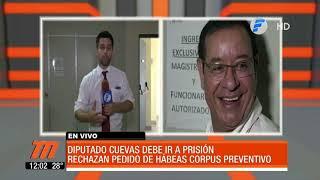 Miguel Cuevas debe ir prisión tras rechazo del hábeas corpus