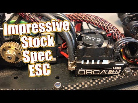 Feature Packed Stock Spec Brushless Speed Control - ORCA Vritra B32 Blinky ESC Review  | RC Driver