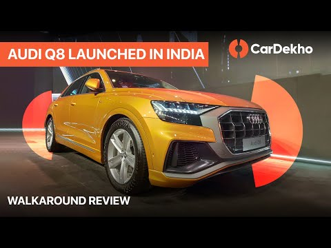 Audi Q8 Launched In India | Walkaround in Hindi | CarDekho.com