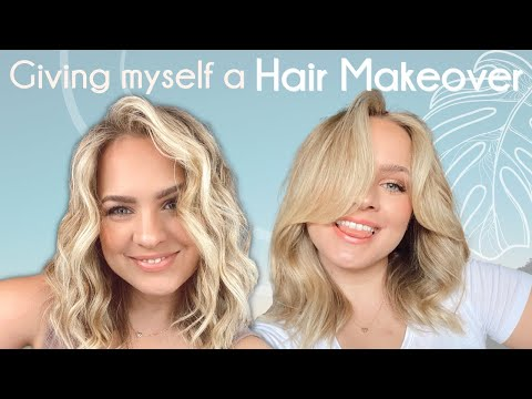 Giving Myself a Hair Makeover with No Cut and No Color – KayleyMelissa