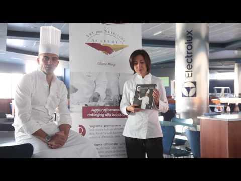 Paolo Cappuccio si diploma in Nutrizione Culinaria