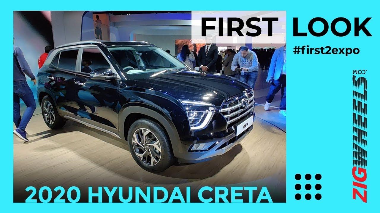 Hyundai Creta 2020 India First Look Review Auto Expo 2020