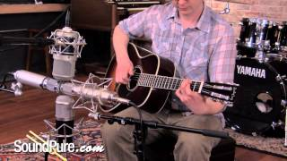 LDC Tube Shootout on Small and Large Body Acoustic Guitars