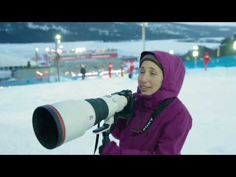 Winter sports in perfect focus | Sports photographer Mine Kasapoğlu